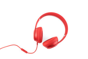 Accessibility is Important - Accessibility means giving people access to the world. Image shows headphones